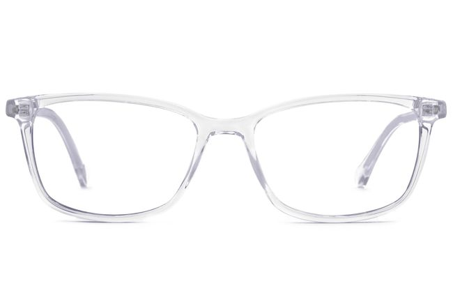 Faraday LBF eyeglasses in panorama viewed from front