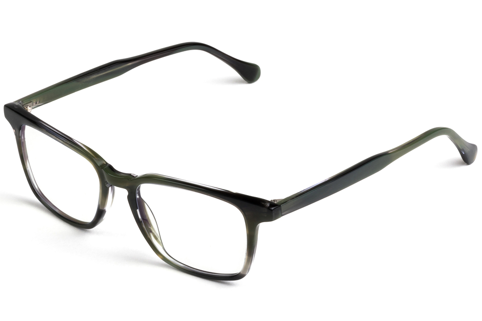 Nash eyeglasses in artichoke viewed from front