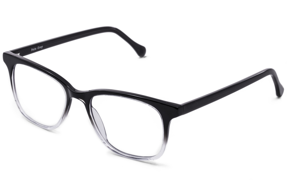 Hopper eyeglasses in manhattan fade viewed from front