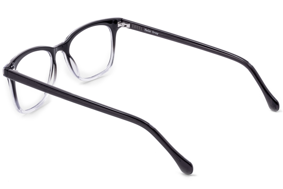 Hopper eyeglasses in manhattan fade viewed from angle