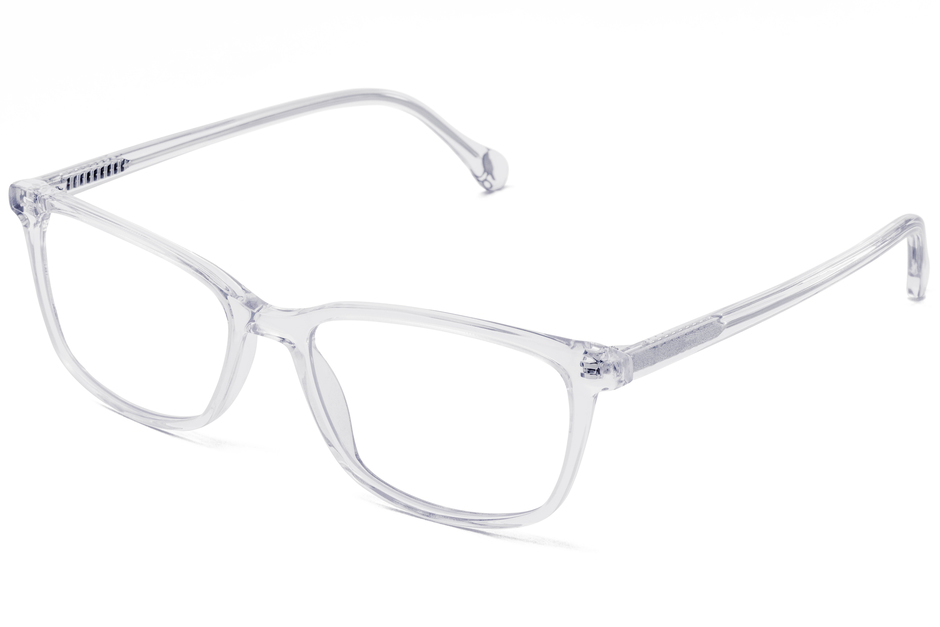 Faraday eyeglasses in panorama viewed from front